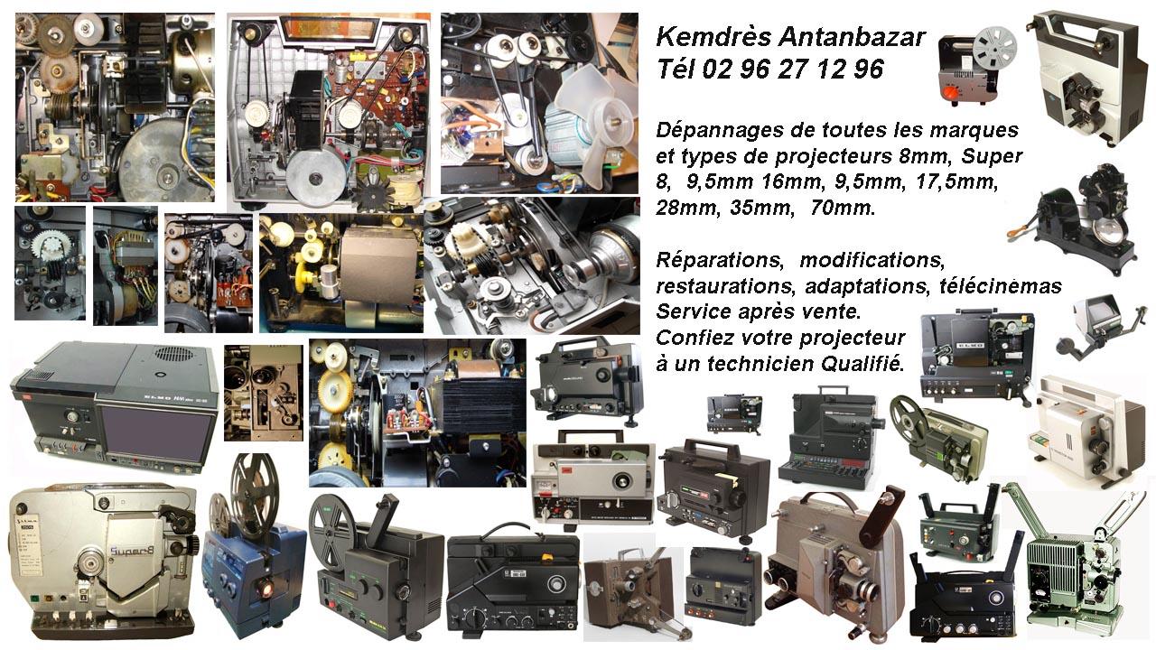b5adb64bb0 Réparation de projecteur, télécinéma et visionneuse super 8 mm, 16mm, 8mm,  9,5 mm, restauration d'anciens projecteurs 35mm Pathé, 17,5mm et 28mm, ...